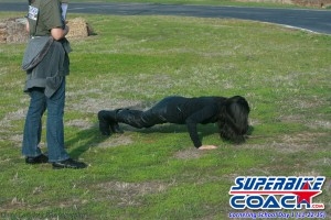 penalty for a superbike-coach student