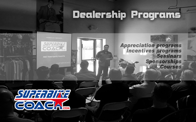 Superbikecoach dealership programs