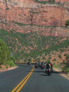 Kalifornian erleben mit Superbike-Coach