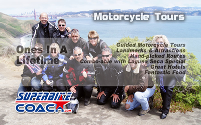 Superbike-Coach Motorcycle Tours featured