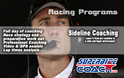sideline coaching by superbikecoach