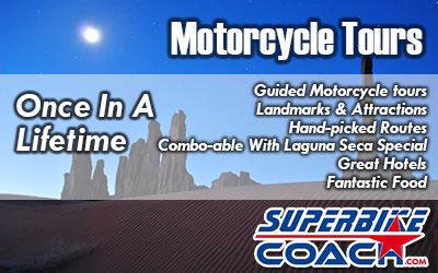 superbike coach motorcycle tous