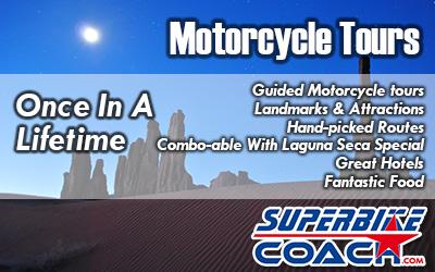 superbike coach motorcycle tous