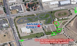 Ways to enter the paddock for your Superbike-Coach class