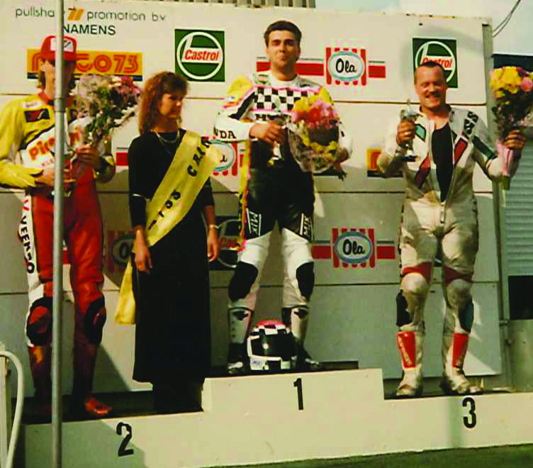 Can Akkaya wins an international race in Oss NL and sets the record of the race. He lead the race from the Pole Position to the finish in 1994