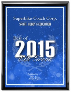 Award winner, Superbike-Coach Corp 2015